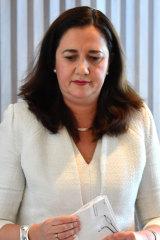 Annastacia Palaszczuk confirmed she made the decision to veto the loan, not the CBRC.