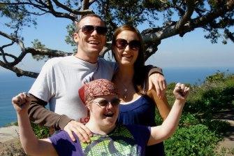 Brian and Kelly Donovan with Tempany Deckert.