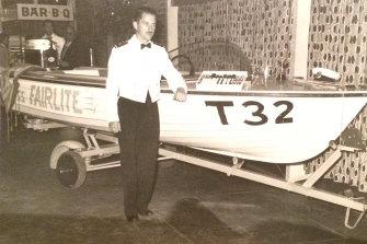 Miss Fairlite, built by Bruce Fairlie, won many races.