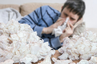 'Man flu' may well have a basis in science.
