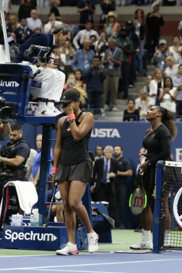 Carlos Ramos was at the center of firestorm in the US Open final between Serena Williams and Naomi Osaka.