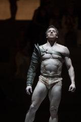 Kevin Jackson as Spartacus.
