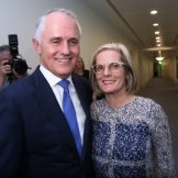 Old friends and Manhattan capers for Malcolm and Lucy Turnbull.