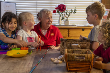 'I'll miss the children a lot': Peggy farewells childcare centre she's worked at since 1974