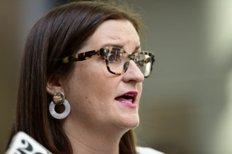 Education Minister Sarah Mitchell tabled the progress report in Parliament on Thursday.