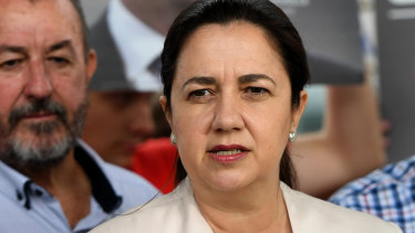 Premier Annastacia Palaszczuk will make revenge porn a criminal offence if her government is reelected on Saturday.