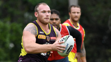 Documents lodged: Matt Lodge has undertaken a series of steps to ensure his NRL comeback.