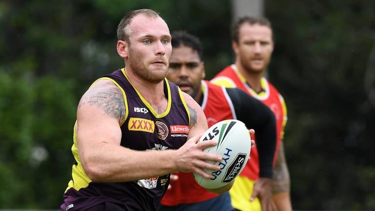 Documents lodged: Matt Lodge has undertaken a series of steps to ensure his NRL comeback.