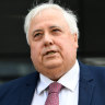 Palmer withdraws $1.8b damages suit in Queensland