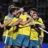 Kookaburras beat Black Sticks to qualify for Tokyo, Hockeyroos face anxious wait