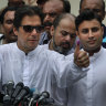 Imran Khan claims win in Pakistan with vows on poverty, US ties