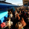Metro's afternoon peak-hour squeeze continues to rise as worst line revealed