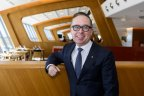 Qantas chief executive Alan Joyce is keen to get planes in the air again.