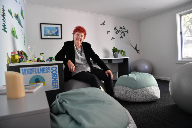 Erin Shale goes to bed early for a week before VCE results day, after which she'll see up to 200 students.