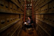 Sarah Gregory, supervising archivist at the NSW State Archives.
