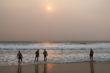 Air quality in Sydney was ranked the ninth poorest in the world on Friday.