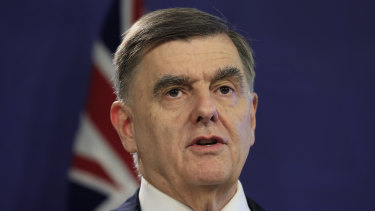 Federal health department secretary Professor Brendan Murphy briefed the national cabinet about the rollout on Friday.