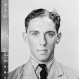 John Martin Vivash who parachuted from a burning Halifax bomber.