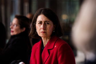 NSW Premier Gladys Berejiklian says she cannot confidently say when the lockout will end.