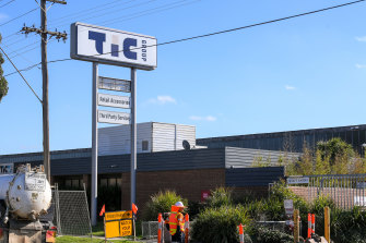 TIC Group in Altona North, now called PACT Retail Accessories, is one of the listed COVID-19 exposure sites.