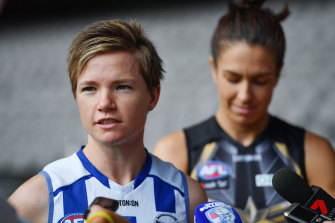 Jess Duffin will miss the upcoming season for North Melbourne.
