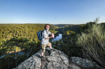 Engadine bushwalker Ralph Cartwright regularly explores the nearby Royal National Park.