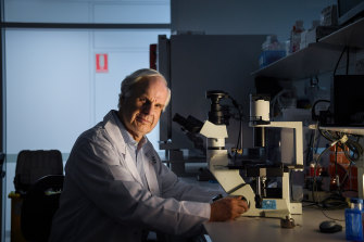 Professor Tony Cunningham, director of the Centre for Virus Research.