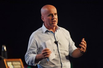 Former education minister Adrian Piccoli, now head of the Gonski Institute for Education.
