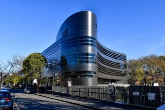 Melbourne Grammar's new science building The Geoff Handbury Science and Technology Hub.