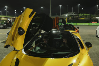 SMSP Track Night at Eastern Creek Raceway, where members of the public  can drive their cars as fast as they like in safe conditions without breaking the law.