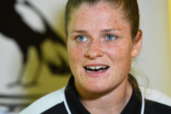 Brianna Davey is making progress but still in doubt for the clash against the Blues.