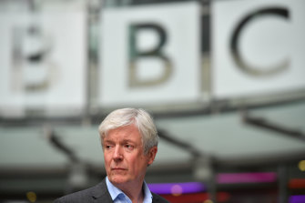 Former director-general of the BBC Tony Hall .