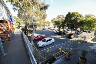 The carpark behind Balaclava station in Melbourne's south-east was slated for redevelopment under the Morrison government's infrastructure plan.