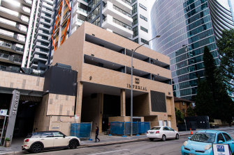 Orders were first issued to the developer of the twin Parramatta towers on June 30 after serious defects were found.