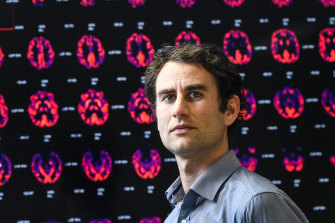 Dr Robb Wesselingh, a neurologist and researcher at The Alfred hospital, is working on a database to track the effects of COVID-19 infection on the brain.