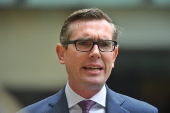 NSW Treasurer Dominic Perrottet said the decision was made following a five-month scoping study.