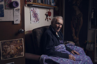 Sean Salander developed delirium in hospital two days after a hip replacement.