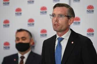 NSW Treasurer Dominic Perrottet is the frontrunner to take over as Premier.