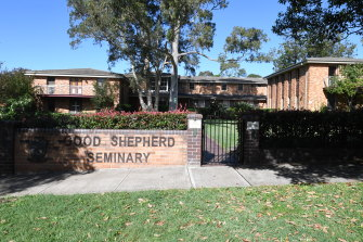 Cardinal Pell has been staying at a seminary in Homebush, Sydney.