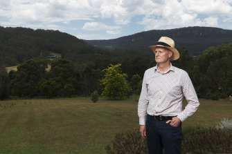 Matt Gray is trying to get council approval for two fire bunkers to be installed on his land.