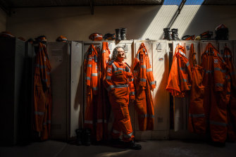 Bendigo SES deputy controller Natalie Stanway says recruiting more women is crucial.