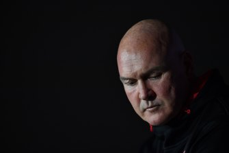 Paul McGregor's downturned lips became a mirror for long-suffering Dragons fans.