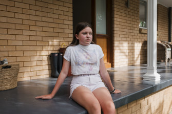 Roisin Gibson, from Hornsby Heights, has made good friends at school and hopes to nurture those relationships.
