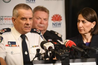Rob Rogers will step into role of NSW RFS Commissioner for the next 12 months.
