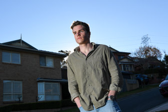 James Browning, 19, from Sydney, is one of an increasing number of under 40s deciding to get the AstraZeneca vaccine, and convincing friends along the way.