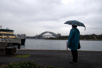 It's wet on Thursday in Sydney and it's set to continue over the coming days.
