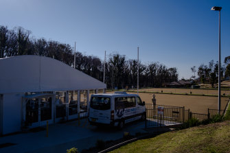 The new temporary marquee at Club Malua.