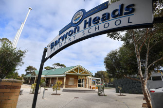 A student at Barwon Heads Primary School has tested positive to COVID-19.