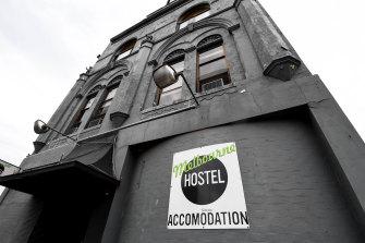 The St Kilda hostel.