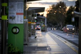 Melbourne is in its second week of lockdown.
